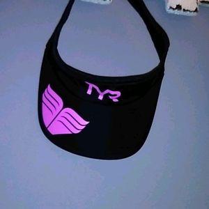 Brand new TYR velcro back visor